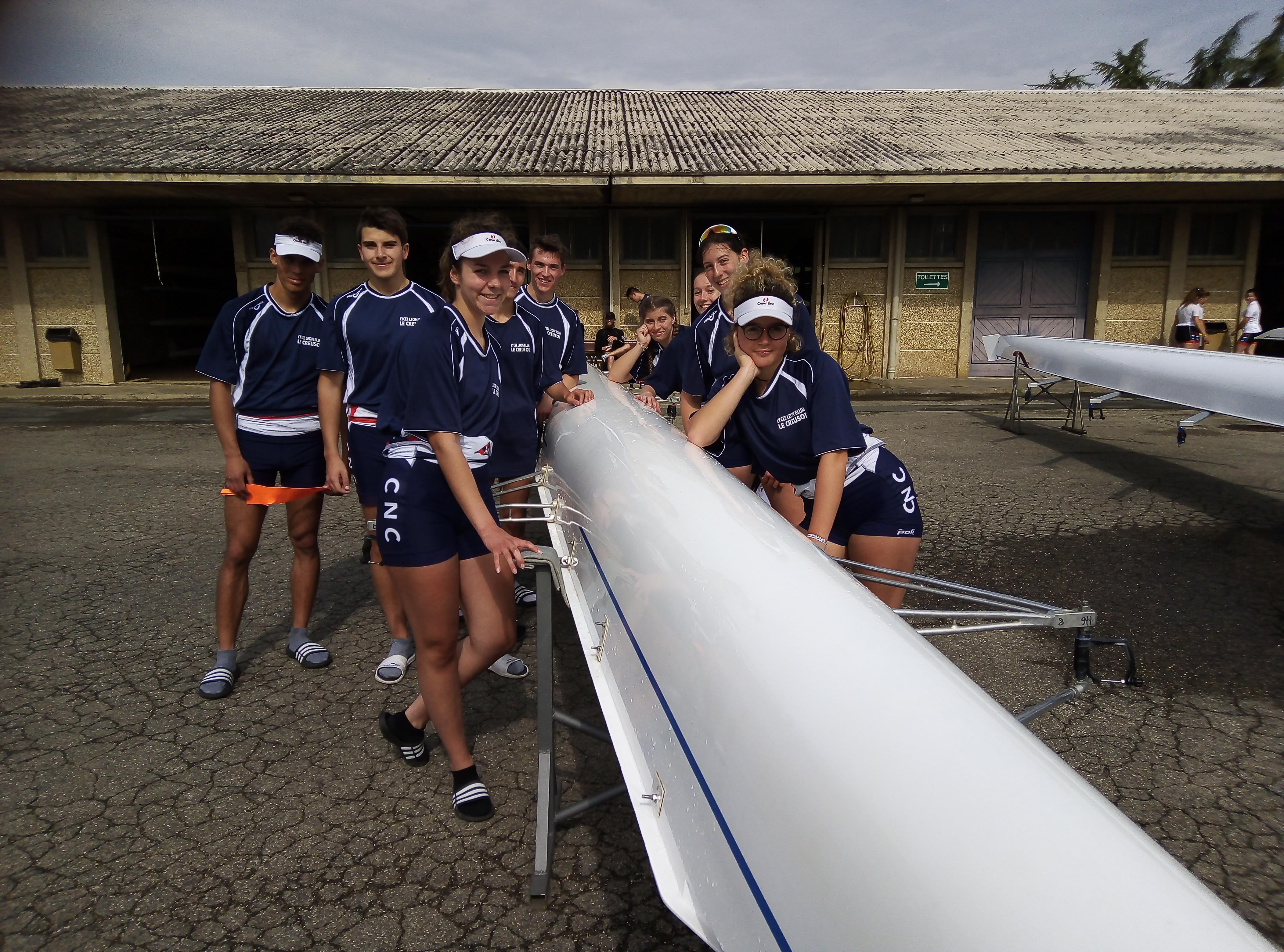 Aviron : 6ème aux Championnats de France