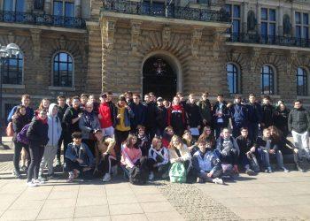 Les élèves du lycée Blum à Hambourg